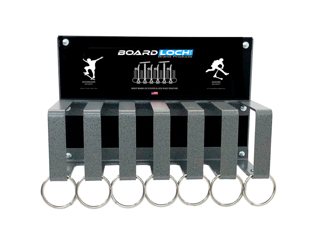 skateboard and scooter rack - Alpha 6